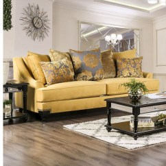 Traditional Sofa Sets Living Room King Snl Viscontti Gold - Shop For Affordable Home Furniture ...