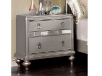 Ariston Silver Nightstand - Shop for Affordable Home ...