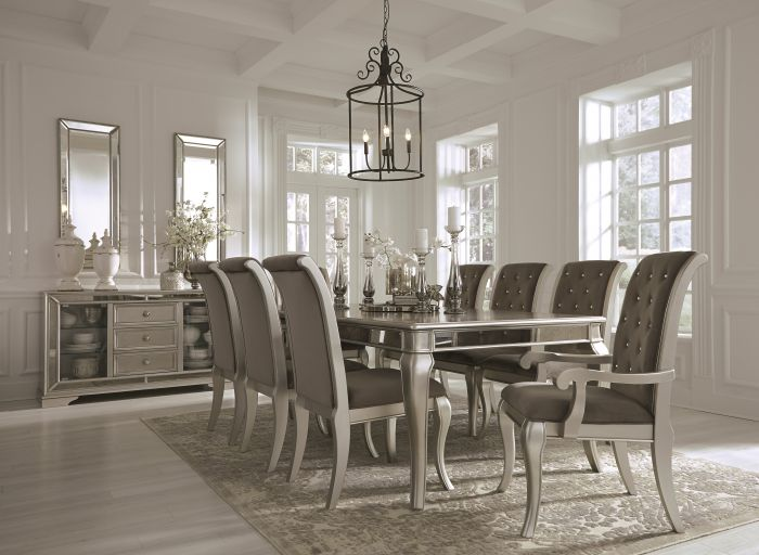 Birlanny Silver Dining Table Set Shop For Affordable