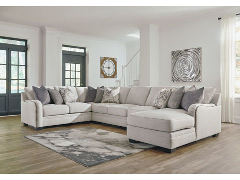 Dellara Sectional WRaf Corner Chaise Shop For