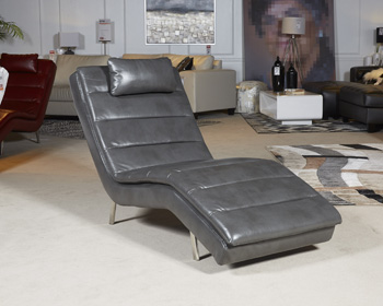 Goslar Grey Chaise Shop For Affordable Home Furniture