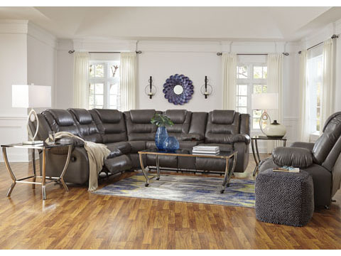 Walgast Grey Reclining Sectional Set Shop For Affordable
