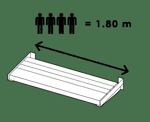 MuurBank model 1.80