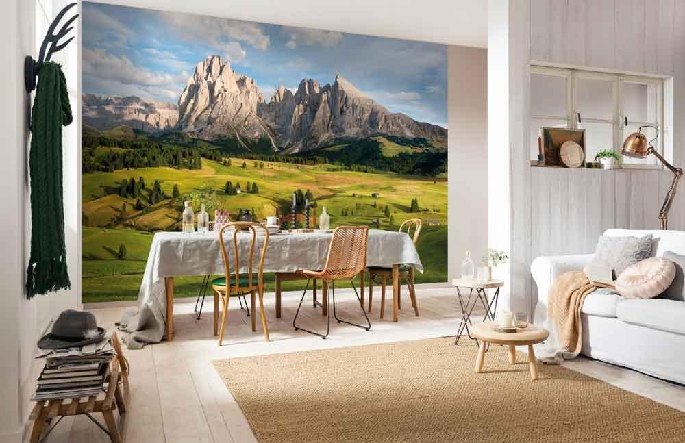 Fotobehang Alpen  Muurmodenl