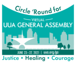 LOGO OF 2021 UUA GENERAL ASSEMBLY