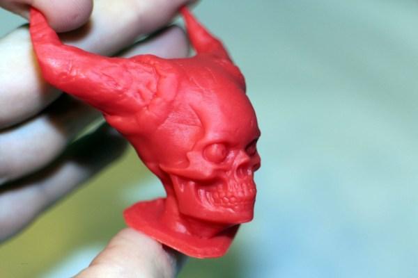 Hell Skull by Sculptor