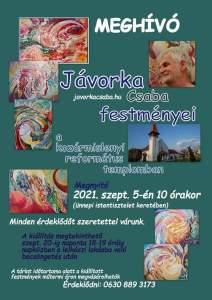 Jávorka Csaba kiállítása