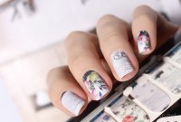 Vintage nail art wraps  Mari's Nail Polish Blog