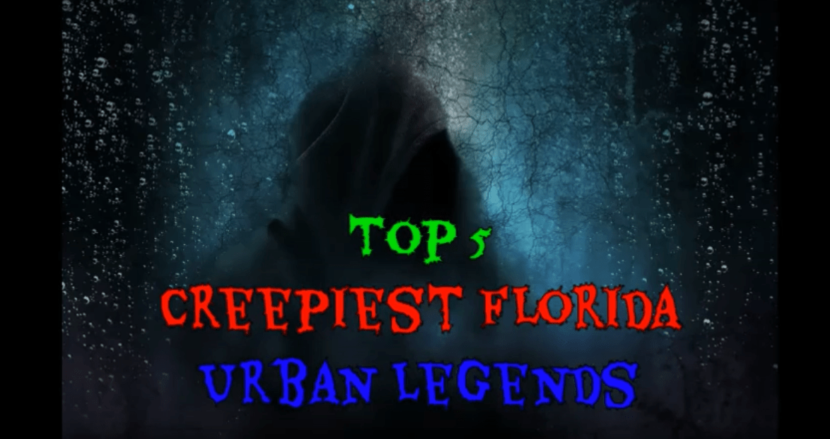 muxe tv creepy countdown Top 5 Creepiest Florida Urban Legends
