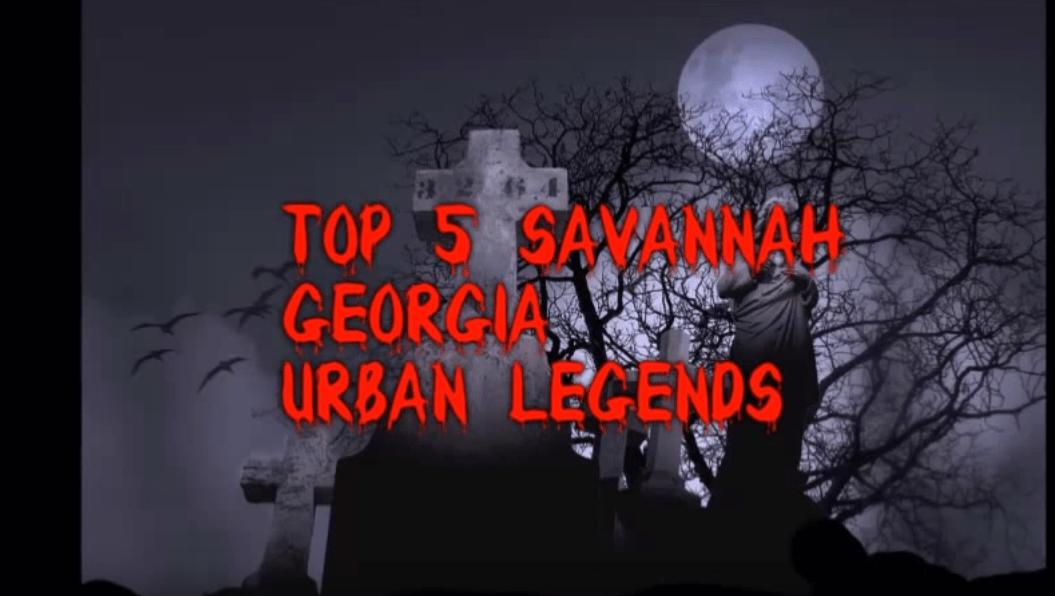 muxe tv creepy countdown Top 5 Scariest Savannah Georgia Urban Legends