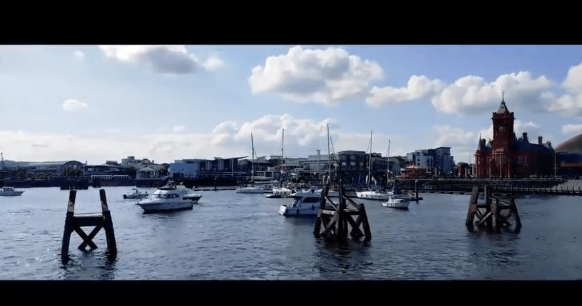 muxetv rok pat Cardiff Bay