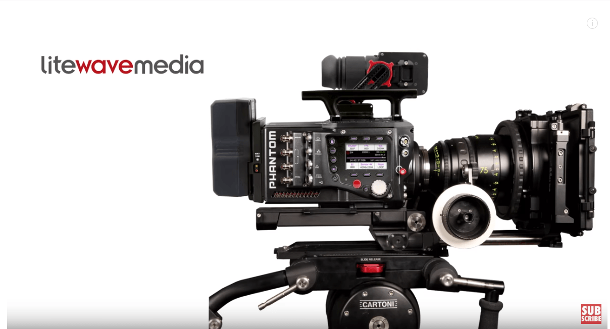 muxetv filmjam Phantom Flex 4k Camera