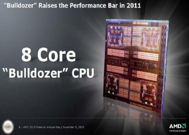 amdbuldozer AMD Bulldozer, el primer 8 núcleos para consumo