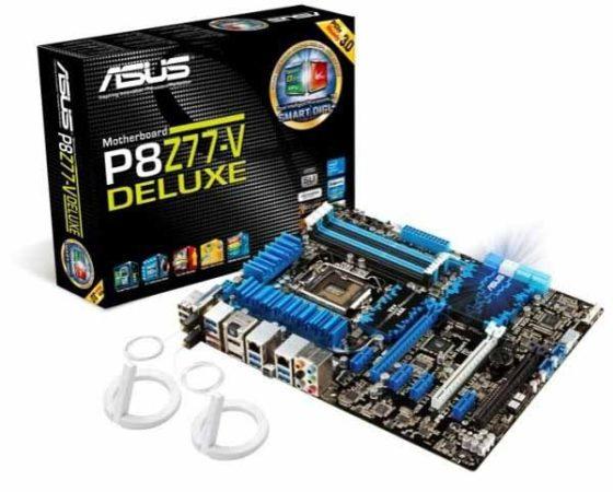 asus P8Z77 560x450 Nueva línea de placas base ASUS P8Z77