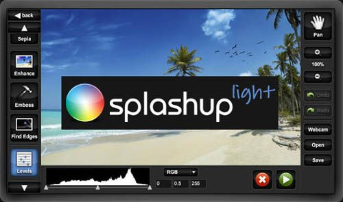 splashup Siete alternativas a Photoshop en la nube de forma gratuita