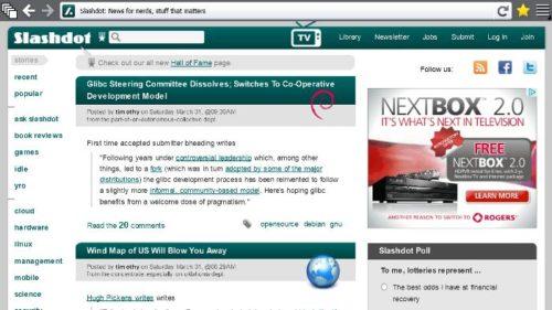 metro no sidebar 500x281 Primeras imágenes de Firefox para Metro