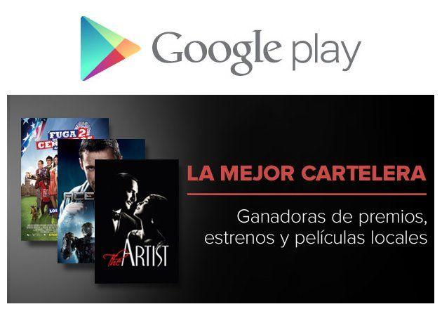 Google Play Peliculas El cine llega a Google Play