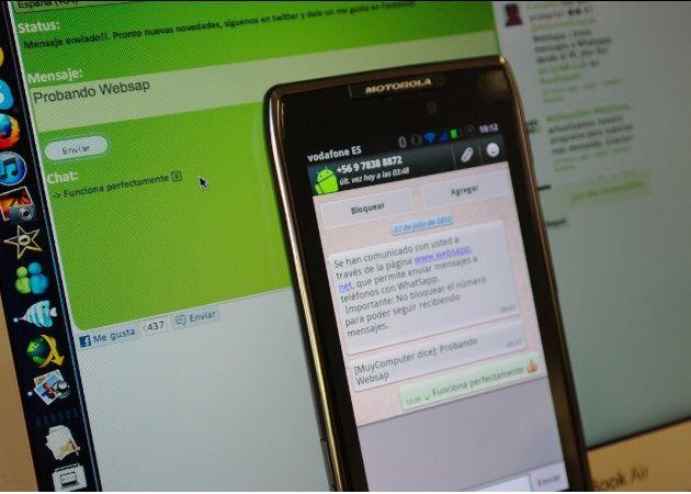 websapp2 Envía mensajes WhatsApp desde tu navegador con Websapp