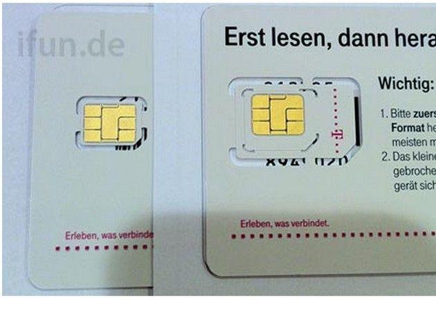 nano sim iphone5 Llegan las nano SIM: lanzamiento inminente del iPhone 5