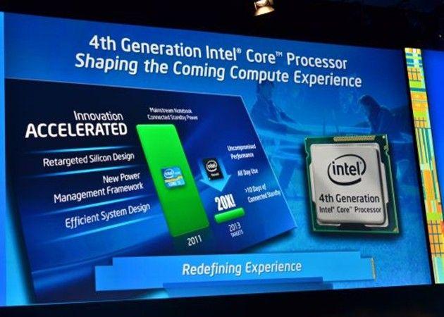 Intel Haswell Especificaciones y modelos de los Intel Core 4000 Haswell