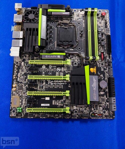 GBTZ87 8 of 43 689 500x595GIGABYTE muestra su nueva y completa línea de placas base Z87