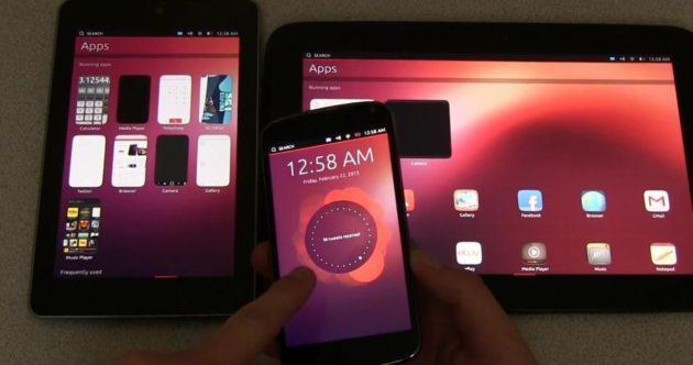 Ubuntu Touch en smartphones y tablets