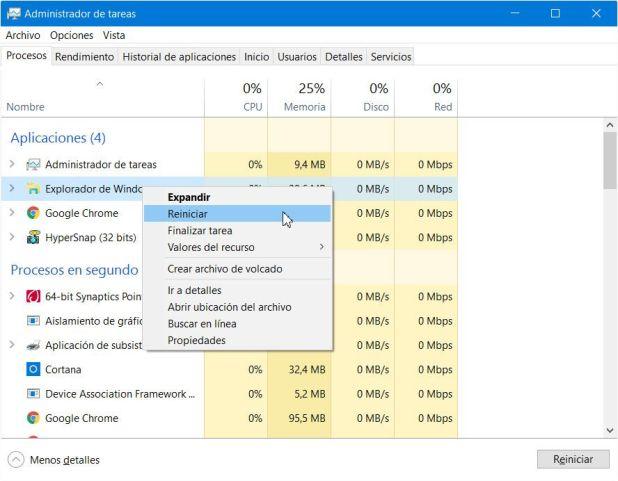 Resultado de imagen para administrador de tareas windows 10