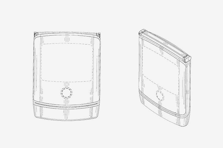 Motorola RAZR con pantalla flexible: una patente muestra