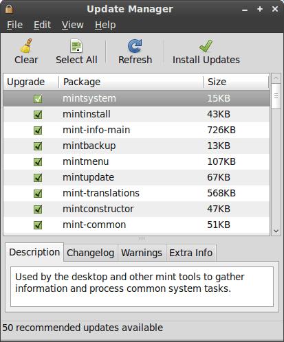 Linux Mint 8 2