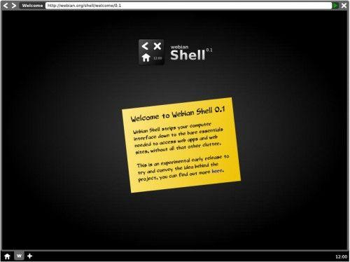WebianShell 1 500x374 Mozilla nos sorprende con Webian Shell