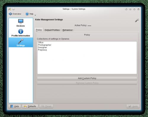 KolorManager oS12.1 2 500x396 Las novedades de openSUSE 12.1