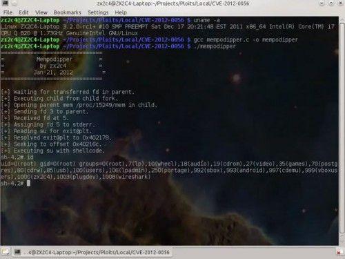 mempodipper 500x375 Escalada de privilegios remota con /proc/pid/mem write
