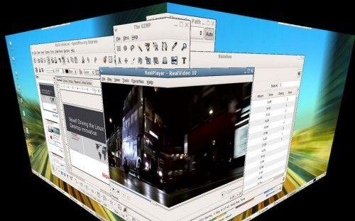 compiz cube 500x311 El complicado futuro de Compiz