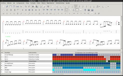 tuxguitar 500x311 Aprendizaje de música en GNU/Linux