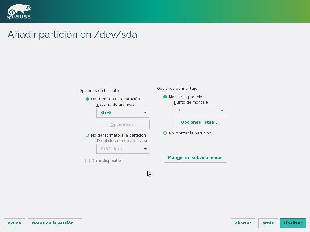openSUSE 42.1