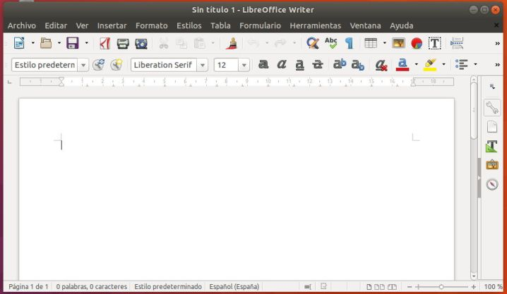 LibreOffice 6 Writer