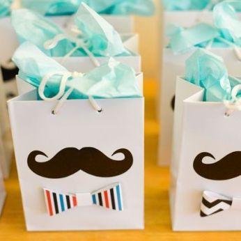Manualidades para Baby Shower bolsas de regalo