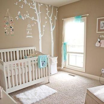 Decoraci n de la habitaci n del beb por colores tutorial - Decoracion para la habitacion del bebe ...