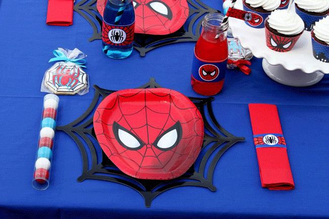 Decoracion Tematica Spiderman Fiestas Infantiles