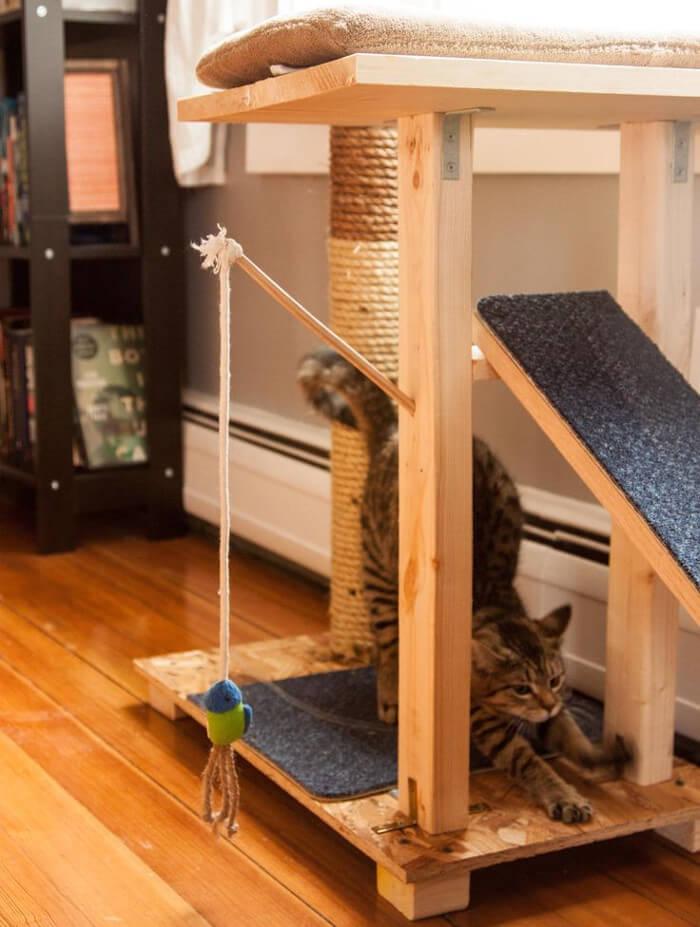 Las 8 ideas de muebles para gatos ms ingeniosas