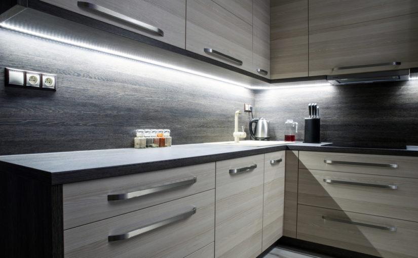 Pasos para instalar luces led en muebles de cocina