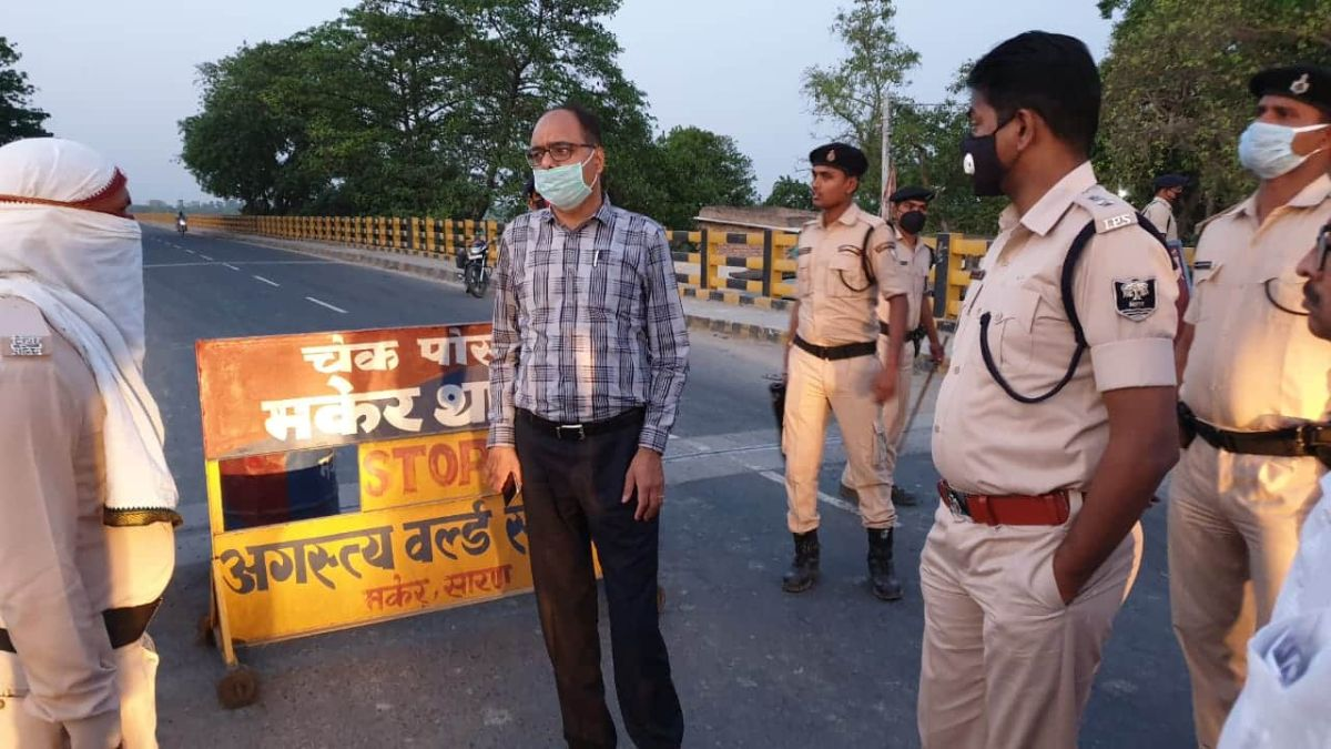 Muzaffarpur sealed all its Border it is sharing with its Neighbouring Districts