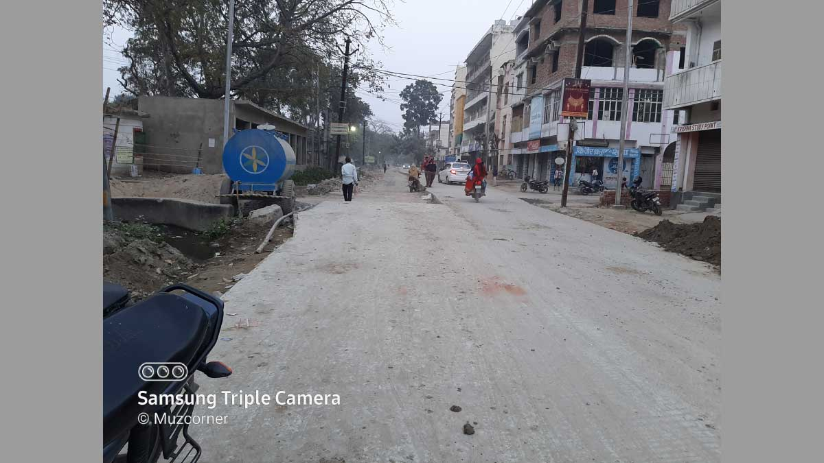 The Construction of Laxmi Chowk Dadar Road is about to Complete