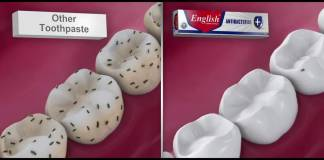 English Toothpaste TVC 2016 Video