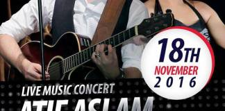 Atif Aslam & Muskan Jay Performing Live Today