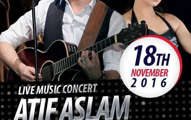 Atif Aslam & Muskan Jay Performing Live Today