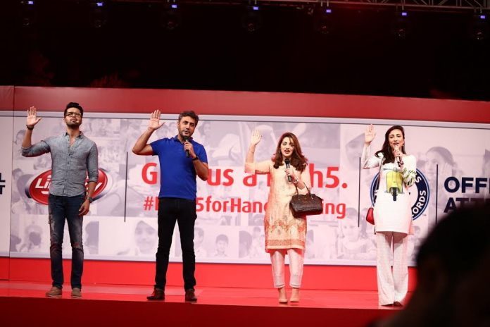 Pakistani Artists in High5 for Handwashing