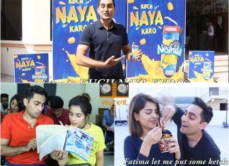 Funny Nesfruta TVC Video feat Danish Ali