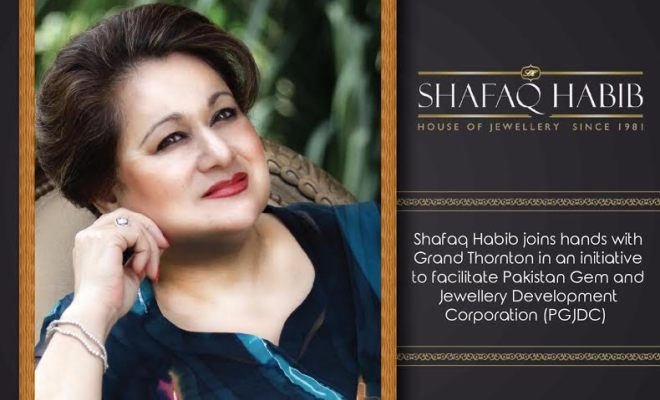 Shafaq Habib joins hands with Grand Thornton For Betterment of PGJDC