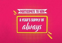 Contest: Participate to Win 'A Year's Supply of Always'